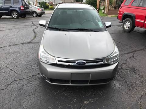 2008 Ford Focus for sale at Ross Hill Automotive in Beaver Falls PA