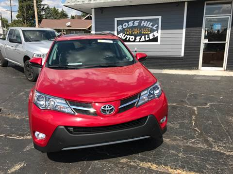 2013 Toyota RAV4 for sale at Ross Hill Automotive in Beaver Falls PA