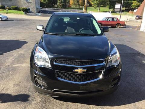 2013 Chevrolet Equinox for sale at Ross Hill Automotive in Beaver Falls PA