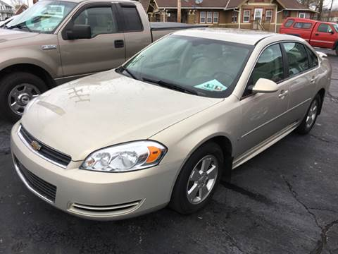 2009 Chevrolet Impala for sale at Ross Hill Automotive in Beaver Falls PA