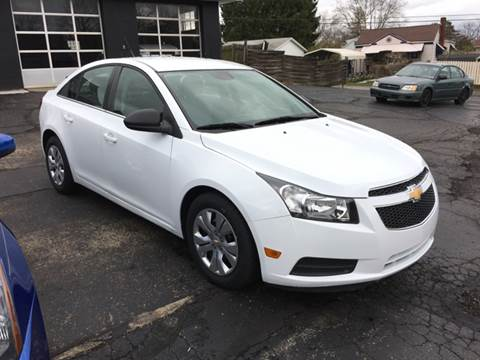 2012 Chevrolet Cruze for sale at Ross Hill Automotive in Beaver Falls PA