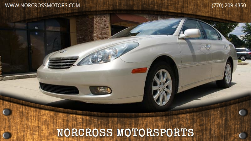 2003 Lexus ES 300 For Sale At NORCROSS MOTORSPORTS In Norcross GA