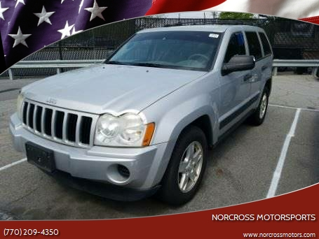 2006 Jeep Grand Cherokee For Sale At NORCROSS MOTORSPORTS In Norcross GA