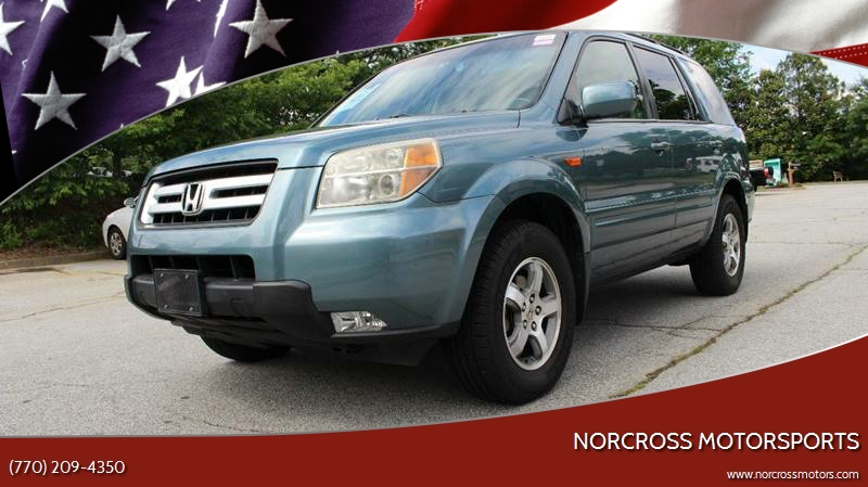 2006 Honda Pilot For Sale At NORCROSS MOTORSPORTS In Norcross GA