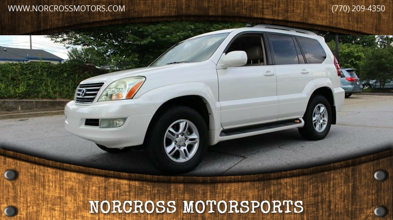 2004 Lexus GX 470 For Sale At NORCROSS MOTORSPORTS In Norcross GA