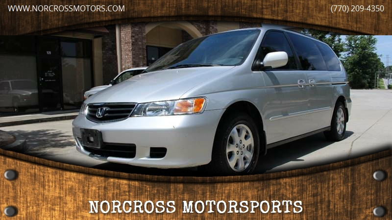 2004 Honda Odyssey For Sale At NORCROSS MOTORSPORTS In Norcross GA