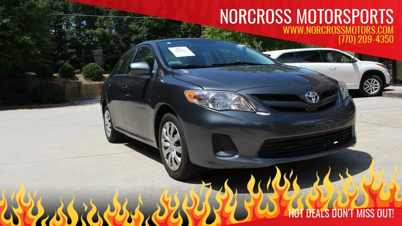 2012 Toyota Corolla For Sale At NORCROSS MOTORSPORTS In Norcross GA