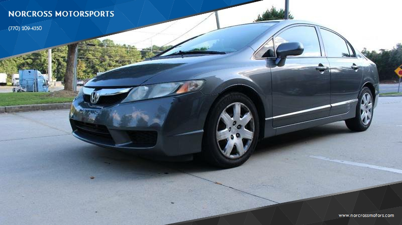 2010 Honda Civic For Sale At NORCROSS MOTORSPORTS In Norcross GA