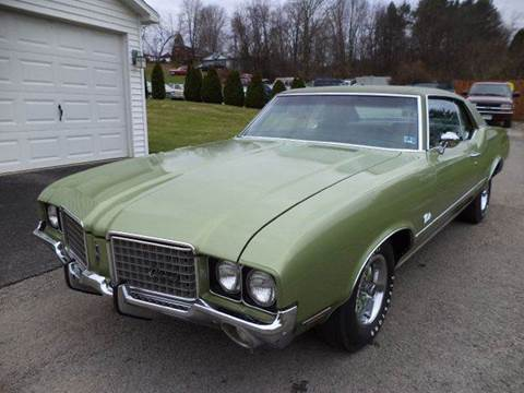 1972 Oldsmobile Cutlass for sale at STARRY'S AUTO SALES in New Alexandria PA