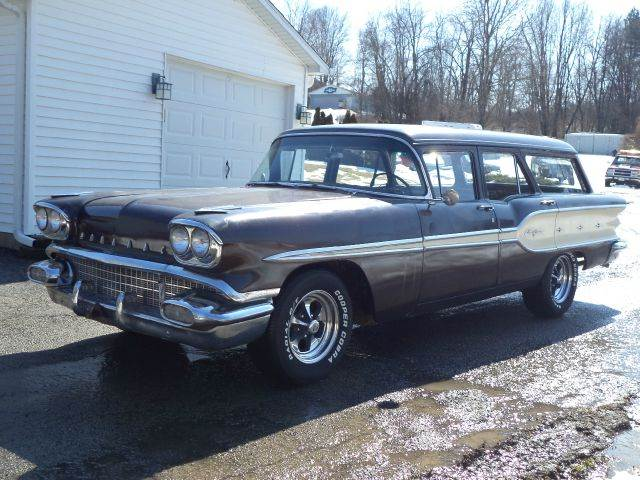 1958 Pontiac Safari for sale at STARRY'S AUTO SALES in New Alexandria PA