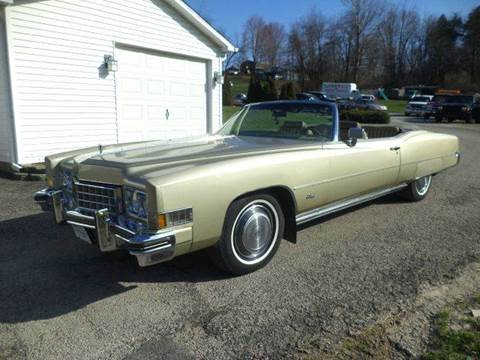 1973 Cadillac Eldorado for sale at STARRY'S AUTO SALES in New Alexandria PA