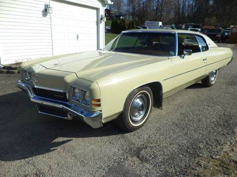 1972 Chevrolet Impala for sale at STARRY'S AUTO SALES in New Alexandria PA