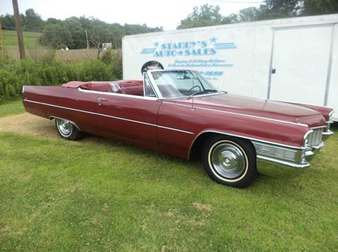 1965 Cadillac DeVille for sale at STARRY'S AUTO SALES in New Alexandria PA