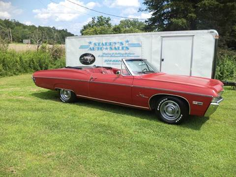 1968 Chevrolet Impala for sale at STARRY'S AUTO SALES in New Alexandria PA
