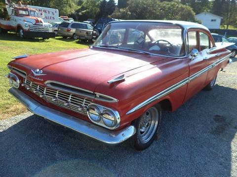 1959 Chevrolet Bel Air for sale at STARRY'S AUTO SALES in New Alexandria PA