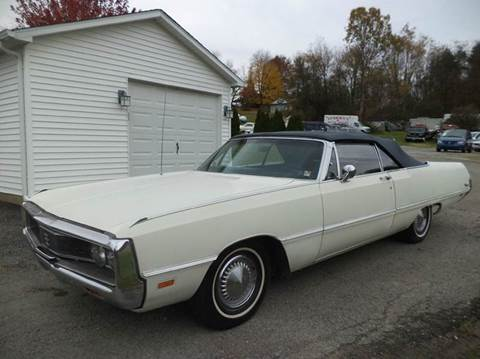 1969 Chrysler Newport for sale at STARRY'S AUTO SALES in New Alexandria PA