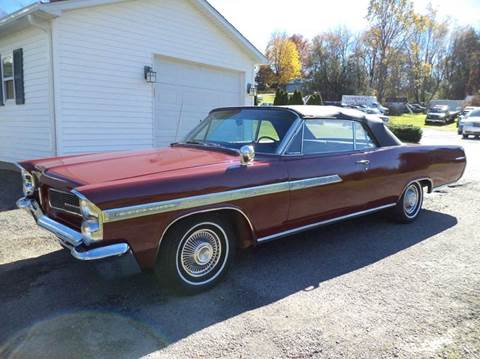 1963 Pontiac Bonneville for sale at STARRY'S AUTO SALES in New Alexandria PA