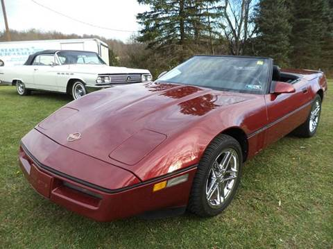 1989 Chevrolet Corvette for sale at STARRY'S AUTO SALES in New Alexandria PA