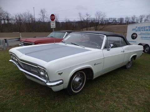 1966 Chevrolet Impala for sale at STARRY'S AUTO SALES in New Alexandria PA