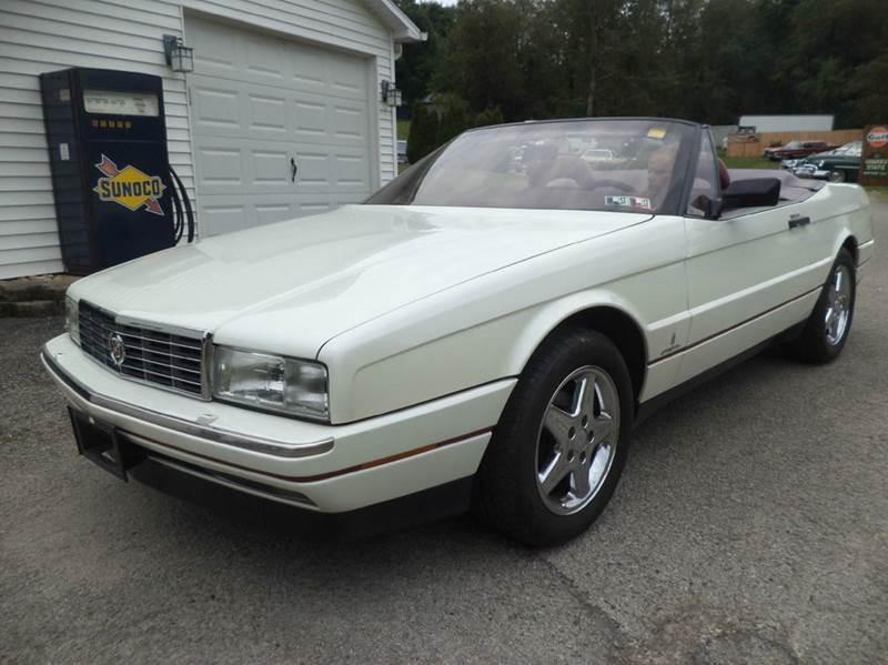 1991 Cadillac Allante for sale at STARRY'S AUTO SALES in New Alexandria PA