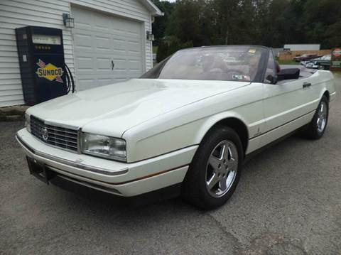 1991 Cadillac Allante for sale at STARRY'S AUTO SALES in New Alexandria PA