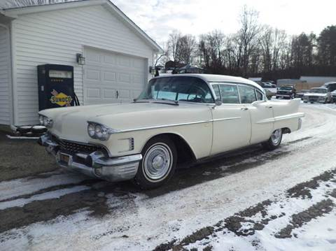 1958 Cadillac Series 62 for sale at STARRY'S AUTO SALES in New Alexandria PA
