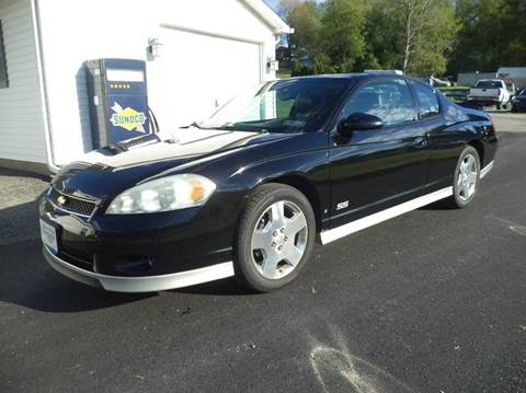 2006 Chevrolet Monte Carlo for sale at STARRY'S AUTO SALES in New Alexandria PA
