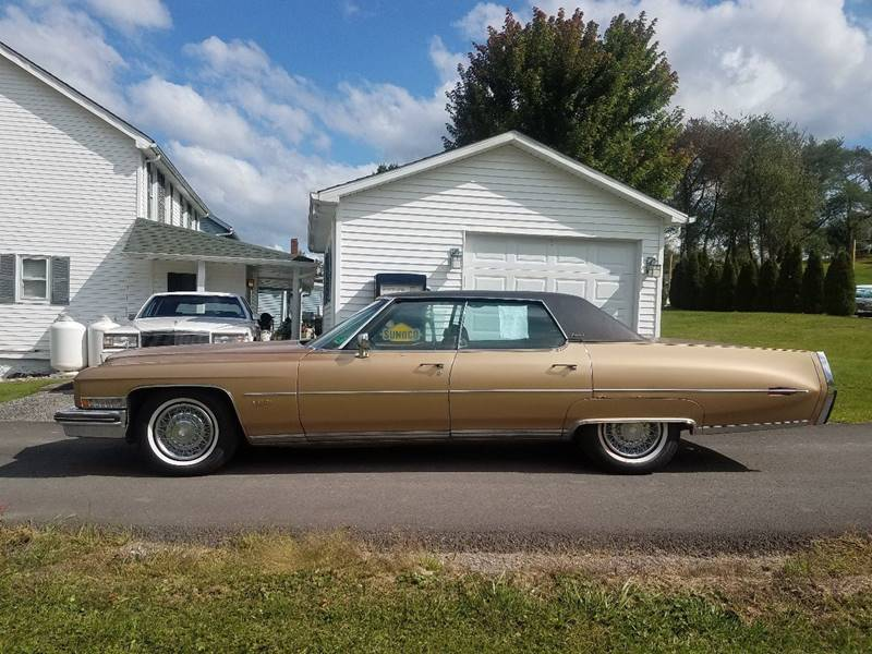 1973 Cadillac DeVille for sale at STARRY'S AUTO SALES in New Alexandria PA