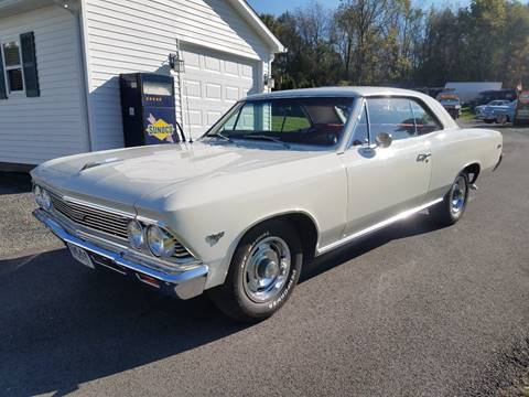 1966 Chevrolet Chevelle Malibu for sale at STARRY'S AUTO SALES in New Alexandria PA