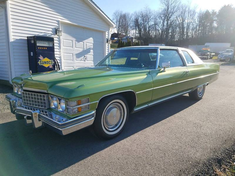 1974 Cadillac DeVille for sale at STARRY'S AUTO SALES in New Alexandria PA