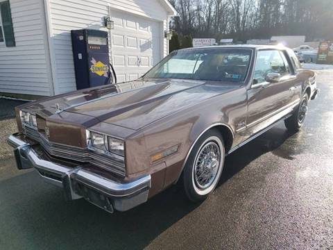 1984 Oldsmobile Toronado for sale at STARRY'S AUTO SALES in New Alexandria PA