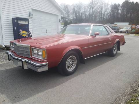 1977 Buick Regal for sale at STARRY'S AUTO SALES in New Alexandria PA