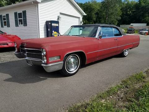 1966 Cadillac DeVille for sale at STARRY'S AUTO SALES in New Alexandria PA