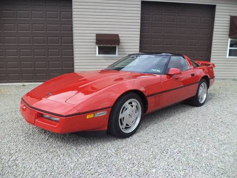 1987 Chevrolet Corvette for sale at STARRY'S AUTO SALES in New Alexandria PA