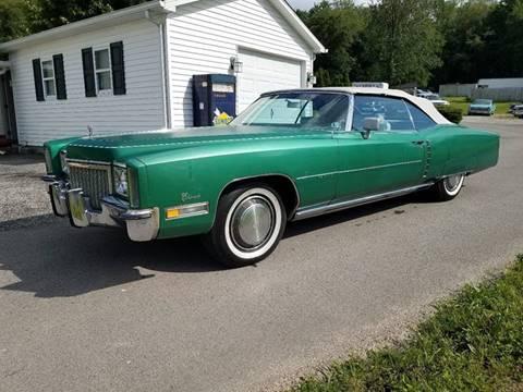 New Cadillac Eldorado >> 1972 Cadillac Eldorado For Sale In New Alexandria Pa