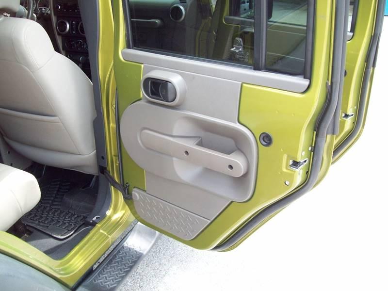 2010 Jeep Wrangler Unlimited for sale at K & K Motors in Bentonville AR