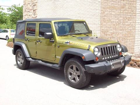 2010 Jeep Wrangler Unlimited for sale at K & K Motors in Bentonville AR