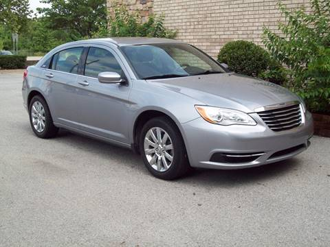 2013 Chrysler 200 for sale at K & K Motors in Bentonville AR