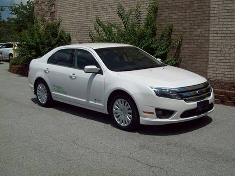 2010 Ford Fusion Hybrid for sale at K & K Motors in Bentonville AR