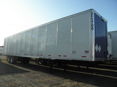 2009 Wabash Dry Van for sale in Fontana, CA