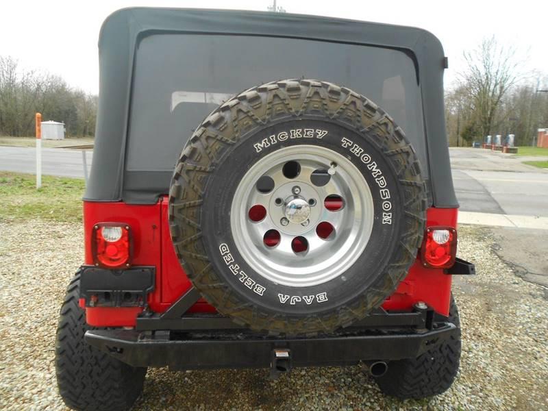 1995 Jeep Wrangler 2dr Sahara 4WD SUV - Schoolcraft MI