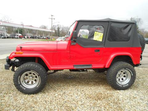 1995 jeep wrangler for sale in schoolcraft mi. Cars Review. Best American Auto & Cars Review