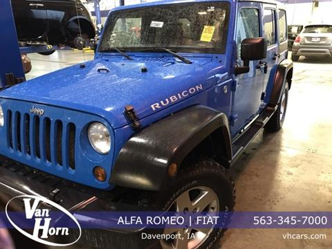 2011 Jeep Wrangler Unlimited for sale in Davenport, IA