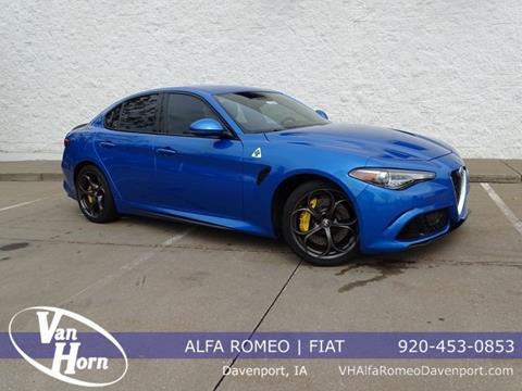 2018 Alfa Romeo Giulia Quadrifoglio for sale in Davenport, IA