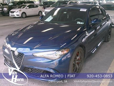 2017 Alfa Romeo Giulia Quadrifoglio for sale in Davenport, IA