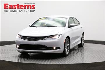 2015 Chrysler 200 for sale in Sterling, VA