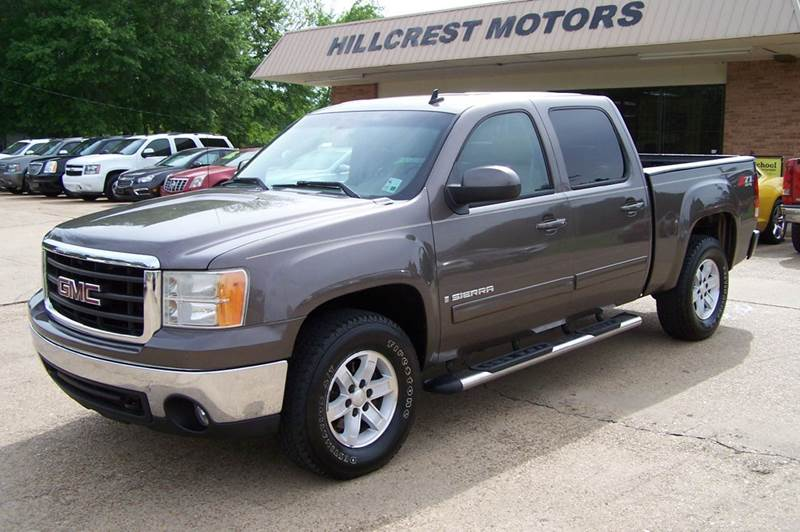 2008 GMC Sierra 1500 for sale at HILLCREST MOTORS LLC in Byram MS