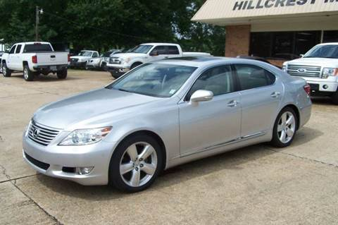 2010 Lexus LS 460 for sale at HILLCREST MOTORS LLC in Byram MS