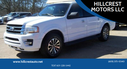 2015 Ford Expedition EL for sale at HILLCREST MOTORS LLC in Byram MS