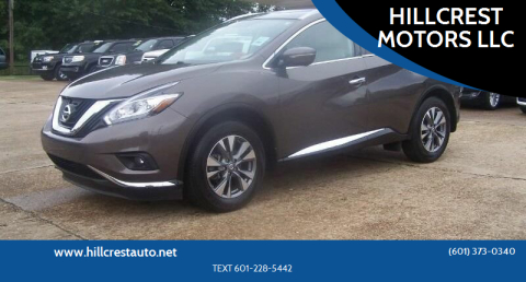 2015 Nissan Murano for sale at HILLCREST MOTORS LLC in Byram MS